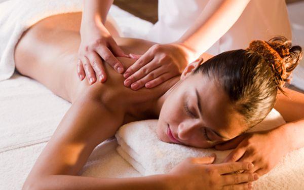 Dodejte tělu novou energii na uvolňující masáži se slevou 50%!