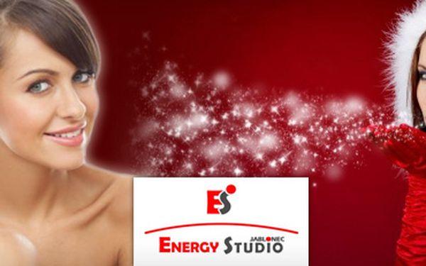 SPECIÁLNÍ VÁNOČNÍ NABÍDKA!! 489 Kč za vánoční dárkový poukaz v hodnotě 1000 Kč na masážní a zeštíhlující procedury v Energy studiu Jablonec!! Potěšte své blízké nevšedním relaxačním zážitkem!!