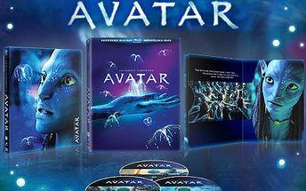 Neuvěřitelný svět fantazie! To je film AVATAR i jeho režie. 50% sleva na sběratelskou Blu-ray edici AVATAR, 2 nové rozšířené verze, osm hodin dosud nezveřejněného materiálu režiséra Jamese Camerona.