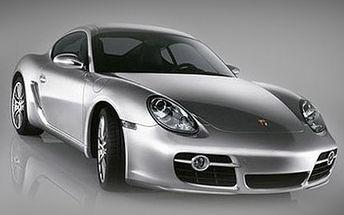 Dvě hodiny dravé jízdy! PORSCHE CAYMAN povzbudí Vaše sebevědomí i smysly. 73% sleva na jízdu s vozem Porsche Cayman. Jízda plná adrenalinu na 2 hodiny.