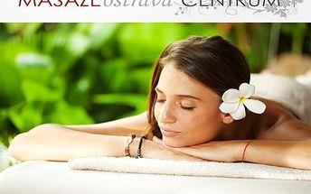 2 relaxační masáže: medová +aromamasáž s 55% slevou!