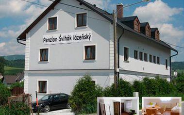 Skvělých 2000 Kč za lyžařský pobyt v penzionu Švihák lázeňský v Jeseníkách. Ubytování pro 2 - 4 osoby na 4 dny (3 noci) ve čtyřlůžkovém pokoji + mnoho dalších výhod pro Vás! Sleva 53%.
