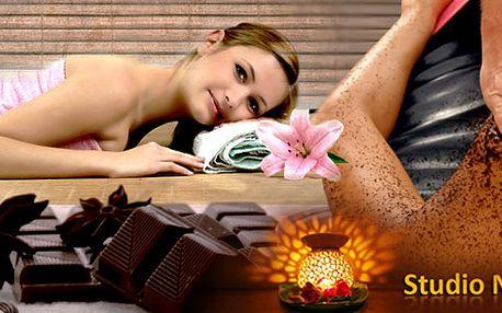 Luxusní masáž 100% horkou čokoládou! Probuďte své smysly při této skvělé relaxaci! Vaše pokožka bude dokonale jemná a nakonec ještě ošetřena Brazilským kávovým preparátem!