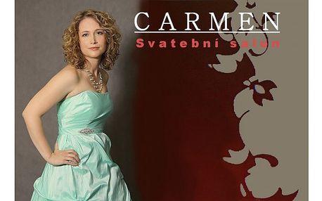 Plesové a společenské šaty ze salonu carmen nyní s bezva slevou ! Neváhejte a vyberte si svoje šaty včas! Sezóna je tady !