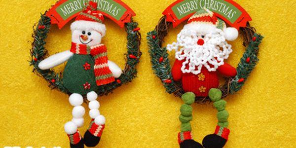 179 Kč za 1 adventní věneček, 1 figurku sněhuláka a navíc 4 ks ozdobných řetězů. Vytvořte si doma tu pravou Vánoční atmosféru!
