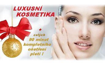 (3)nevíte, co pod stromeček? Máme ideální balíček luxusní kosmetiky a celých 90 minut kosmetického ošetření !