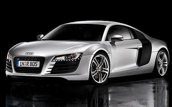Jízda v Audi R8 jen za 499 Kč vás usadí do sedačky pěkně hluboko! 15 minut s 67% slevou!