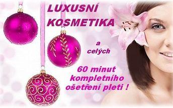 (2)nevíte, co pod stromeček? Máme ideální balíček luxusní kosmetiky a 60 minut kosmetického ošetření k tomu!