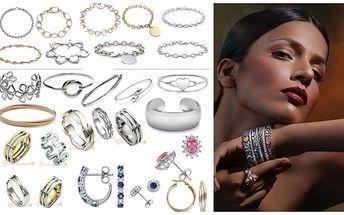 Tip na vánoční dárek! 55% sleva na VEŠKERÝ SORTIMENT luxusních šperků ze stříbra či chirurgické oceli v klenotnictví Shark Steel v brněnském Avion Shopping Park. Větší slevu nenajdete!!