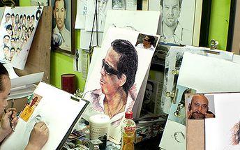 299 Kč za ručně nakreslený portrét formátu A4 podle vaší fotografie. Nevšední památka či umělecký dárek se slevou 50 %!