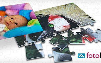 119 Kč za 2x ORIGINÁLNÍ PUZZLE (velikost A4) z fotek dle vašeho výběru!! Darujte k vánocům zábavný a neotřelý dárek a poskládejte si své vzpomínky.