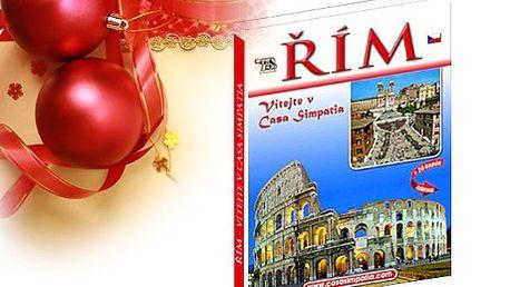 131 Kč včetně poštovného za knižní publikaci průvodce Římem smapou města a bonusem! Kniha Vás nejen seznámí s památkami a tipy co vše je možné v Římě vidět, ale navíc získáte i slevové poukazy, které při Vaší příští návštěvě Říma jistě využijete!
