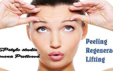 Ideální dárek pod stromeček! Kompletní liftingové ošetření na vyhlazení vrásek kosmetikou z Kalifornie! Peeling, lifting, regenerace a hydratace Vaši pleti.