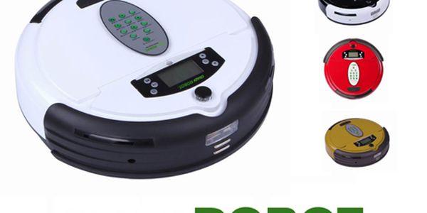 Ideální pomocník pro úklid. Robotický vysavač jen za 3499 Kč!