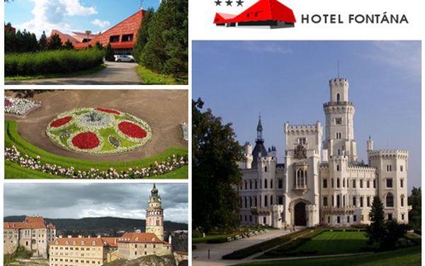 ADVENT nebo JARO v Hotelu FONTÁNA*** ! Pobyt u Lipenské přehrady pro 2 na 3 dny s polopenzí, bazénem, saunou, fitness za 1479 Kč! Platnost do dubna 2012 !
