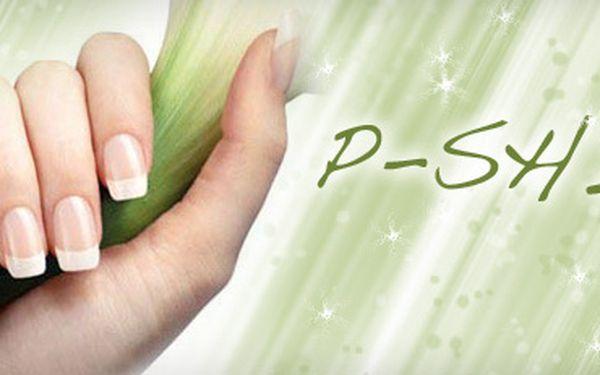 129 Kč za P-SHINE, KLASICKOU MANIKÚRU, REGENERAČNÍ LÁZEŇ, OLEJ a KRÉM, a navíc MASÁŽ RUKOU!! Dopřejte svým rukám v zimním období tolik potřebnou profesionálním péči, se slevou 52 %!!