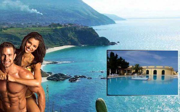 Super first minute na 10-denní zájezd do prosluněné italské destinace Kalabrie! Letní pobyt zahrnuje dopravu, ubytování v krásných apartmánech u moře a další služby za skvělou cenu 3654 Kč! Využijte i jako krásný vánoční dárek.
