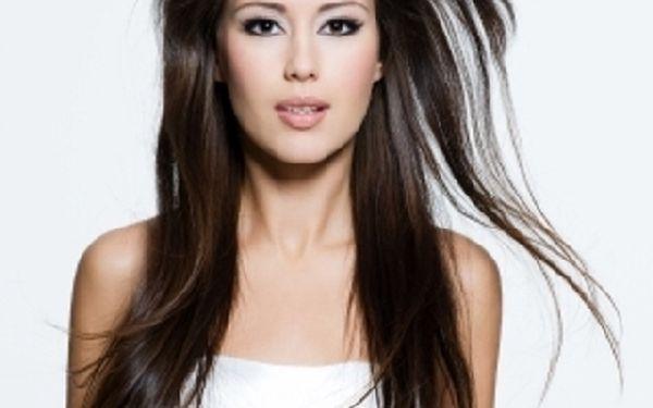 Prodloužení a zhušťování vlasů za tepla nebo studena 100% přírodními vlasy se slevou 50% v Salonu Sofie !