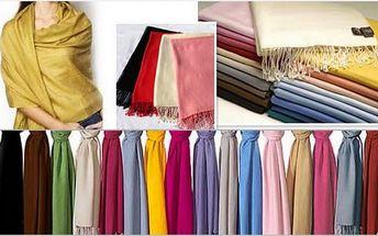 Luxusní a elegantní šála Pašmína. Originální módní doplněk pro dámy i pány pouze za 149 Kč na místo 299 Kč! Darujte svým blízkým krásný dárek pod stromeček!