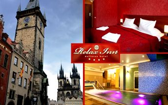 Noc pro dva se snídaní v pražském luxusním 4* hotelu s 55% slevou!