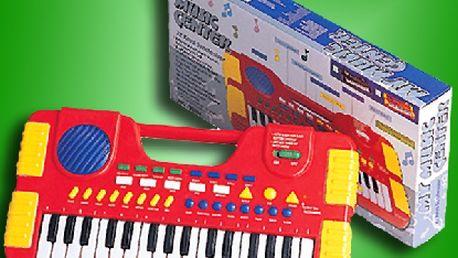 Dětské klávesy my music center = super dárek + pošta zdarma !