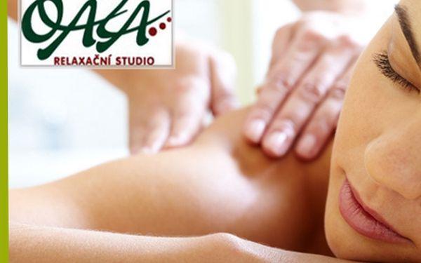 2 nabité masážní kombinace v délce 90 minut s 51% slevou!