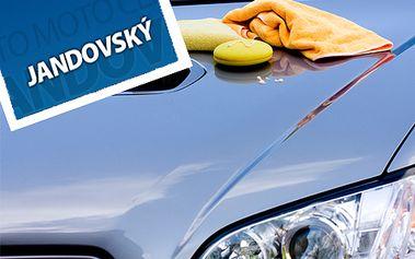 50% sleva na ruční umytí vašeho auta! Dopřejte vašemu vozu dokonalou péči!