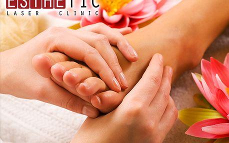 Masáž nohou FOOT PARADISE včetně lázně a parafínového zábalu!