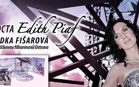 """Jedinečný dárek. DVD + CD zpěvačky Radky Fišarové s Janáčkovou filharmonií Ostrava """"Pocta Edith Piaf"""""""