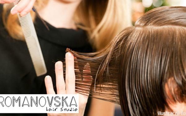 119 Kč za kadeřnický balíček pro pány - mytí, střih, foukaná a styling pro 1. Dopřejte si služby top vlasových specialistů v Hair studiu Romanovská i vy pánové!