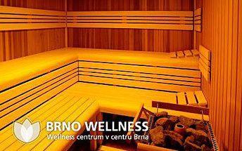 Finské sauna a odpočívárna – 60 min. v sauně + 60 min. v odpočívárně. Venkovní bazén, možnost zapůjčení osušky nebo prostěradla