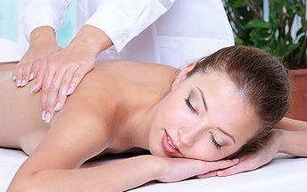Skvělých 249 Kč za 60 minutovou masáž dle Vašeho výběru! Vyberte si čokoládovou masáž, lávové kameny nebo masáž zad a šíje + baňkování. Nechte hýčkat svoje tělo se slevou 59 %!