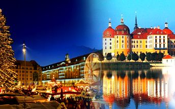 """Poslední místa! Předvánoční POPELKA naposledy! Nedělní Drážďany a zámek Moritzburg s výstavou """"Tři oříšky pro Popelku"""" 18. 12. 2011. Pojeďte za pohádkou, a pak si užijte velkolepé adventní trhy!"""