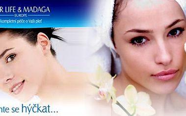 Kompletní kosmetické ošetření českou profesionální kosmetikou na francouzských základech FOR LIFE & Madaga + úprava, barvení obočí a barvení řas