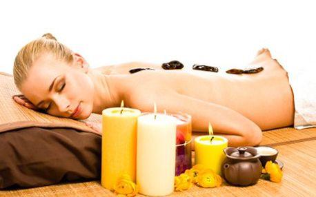 Dopřejte si malé odměny! Třeba bambusovou masáž s horkými kameny. 57% sleva na exotickou bambusovou masáž s horkými kameny a se silicemi květinových i dřevitých vůní. Uvolňujeme stres, napětí a únavu.