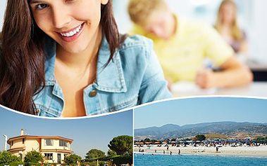 Naučte se perfektně cizí jazyk a užívejte si u moře ve slunné Itálii! 40% sleva na výuku angličtiny, nebo italštiny u moře v italské Kalábrii.