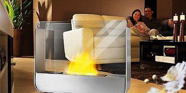 Stolní bio krb MAXX i44 – včetně 1 l paliva až na 7 hodin hoření, zapalovače a poštovného