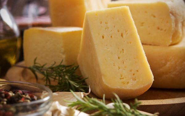 Kvalitní sýry v hodnotě 500 Kč jen za 300 Kč!!!