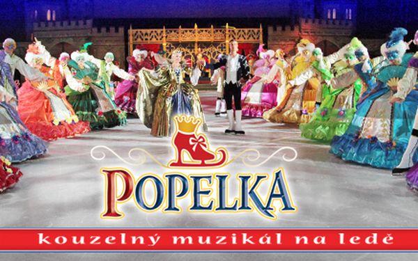 245 Kč za kouzelný muzikál na ledě Popelka. Skvělé obsazení, děti do 5 let zdarma a zábava pro všechny.