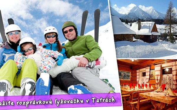 Zažijte pohádkovou lyžovačku v Penzionu Aja pod Vysokými Tatrami - bez nekonečných řad na vlecích a za pohádkové ceny. Nyní 4 dny s pestrou polopenzí pouze za 1785 Kč za osobu!