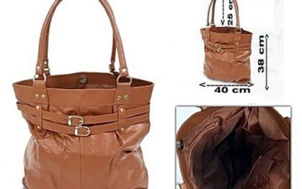 Elegantní hnědá nebo černá kabelka jen za 199 Kč. Módní i praktický doplněk udělá radost každé ženě!