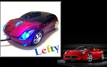 SUPER dárek. Luxusní USB myš ve tvaru auta FERRARI pouze za 249,- Kč. Přejděte i Vy na luxusní značku. A to vše VČETNĚ POŠTOVNÉHO.