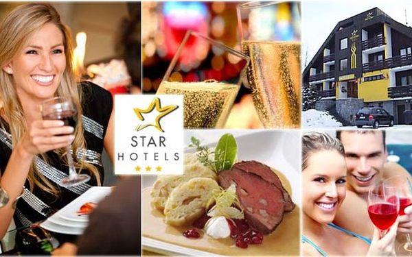 Fantastický 4denní silvestrovský balíček pro 1 osobu včetně snídaní a silvestrovského programu (slavnostní menu, sekt, ohňostroj, živá muzika) za 3 900 kč! Nejlepší začátek do vašeho roku v hotelu star benecko!