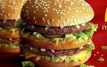 78 Kč za DVA Big Mac™ sendviče u McDonald's vMostě. Oblíbený dvojitý burger se slevou 44 %.
