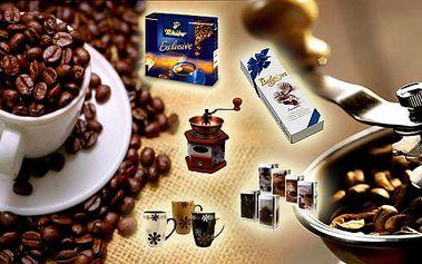 Kávový balíček pro vaše blízké je ideální dárek pod stromeček. Cena včetně poštovného!