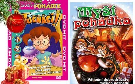 Vánoční balík 50 ks DVD pro Vaše děti se slevou 80%. Potěšte své děti pohádkami za neuvěřitelnou cenu.