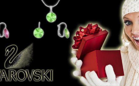 Swarovski komplet – náušnice a náhrdelník! Dopřej si luxus této značky! Poštovné v ceně!