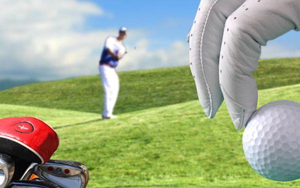 2990 Kč za intenzivní kurz golfu v Myštěvsi včetně ubytování a plné penze. Získejte zelenou kartu, nebo vylepšete svůj handicap se slevou 58 %!