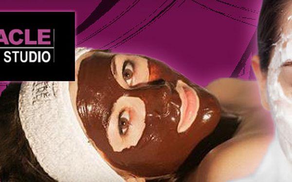 VÁNOČNÍ BALÍČEK PRO VAŠI PLEŤ za 299 Kč!! KOLAGENOVÉ, nebo ČOKOLÁDOVÉ ošetření pleti, zahrnující čištění, peeling, masáž obličeje, speciální pleťovou masku a krém atd., se slevou 50%!!