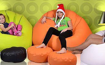 1 399 Kč za relaxační sedací vak Maxík v 17 barvách. Nejpohodlnější místo pro celou rodinu!